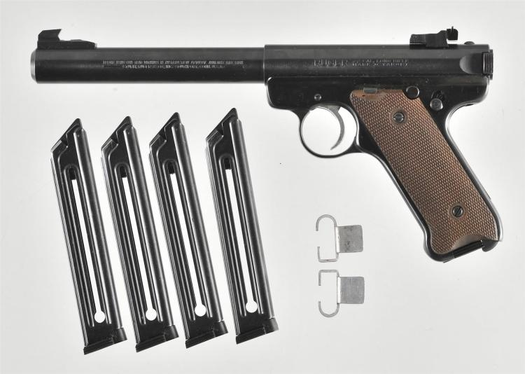 Ruger Mark II Target Pistol with Accessories