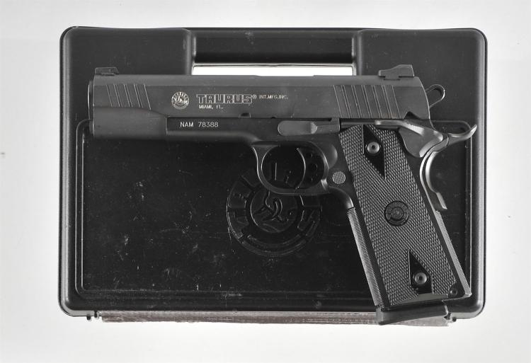 Taurus PT 1911 Semi-Automatic Pistol with Matching Case