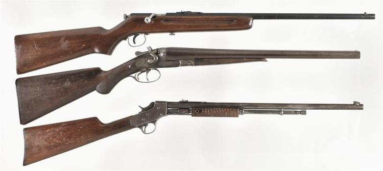 Three Long Guns -A) Mossberg Model 10 Bolt Action Rifle