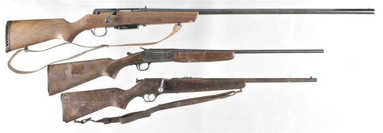 Three Long Guns -A) Marlin Model 55