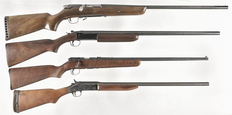 Four Long Guns -A) Kessler Arms Model 326FR Bolt Action Shotgun