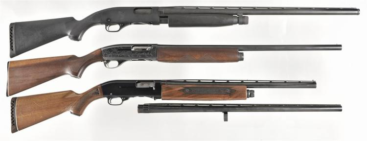 Three Sporting Shotguns -A) Winchester Model 1300 Ducks Unlimited Slide Action Shotgun