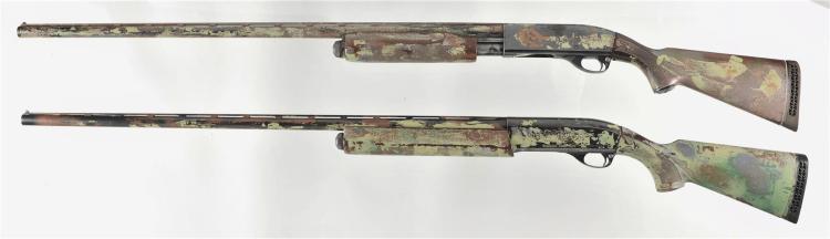 Two Remington Shotguns -A) Remington Magnum Wingmaster Model 870 Slide Action Shotgun
