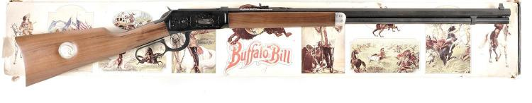 Winchester Model 94 Buffalo Bill Commemorative Lever Action Rifle with Matching Box