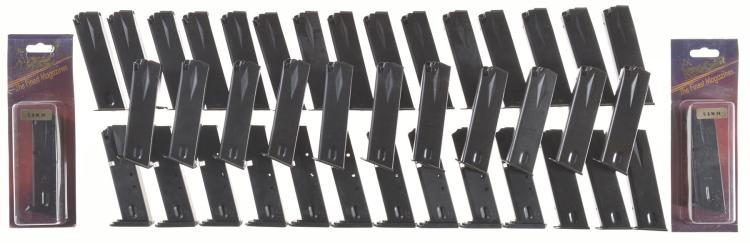 Large Group of Handgun Magazines