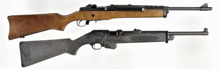 Two Ruger Carbines -A) Ruger Model Mini Thirty Semi-Automatic Carbine