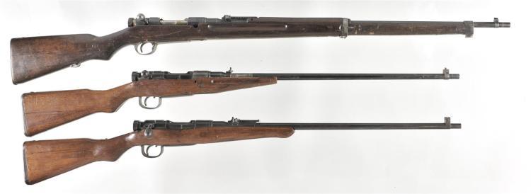 Three Bolt Action Japanese Military Rifles -A) Koishikawa Type 38 Rifle