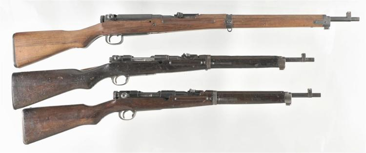 Three Bolt Action Japanese Military Rifles -A) Tokyo Juki Kogyo Type 99 Rifle