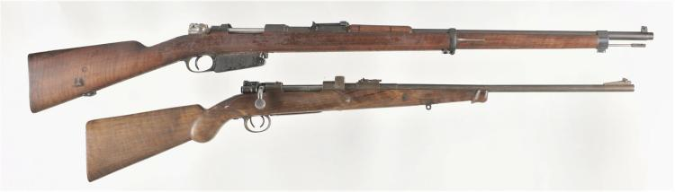 Two Bolt Action Rifles -A) Mauser Argentine Contract Model 1891 Rifle