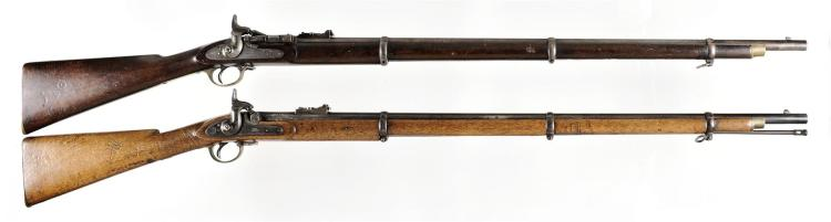 Two British Rifles -A) Enfield Snider Converted MKII Breech Loading Rifle