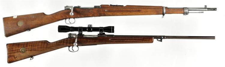 Two European Bolt Action Rifles -A) Husqvarna Model 1938 Rifle