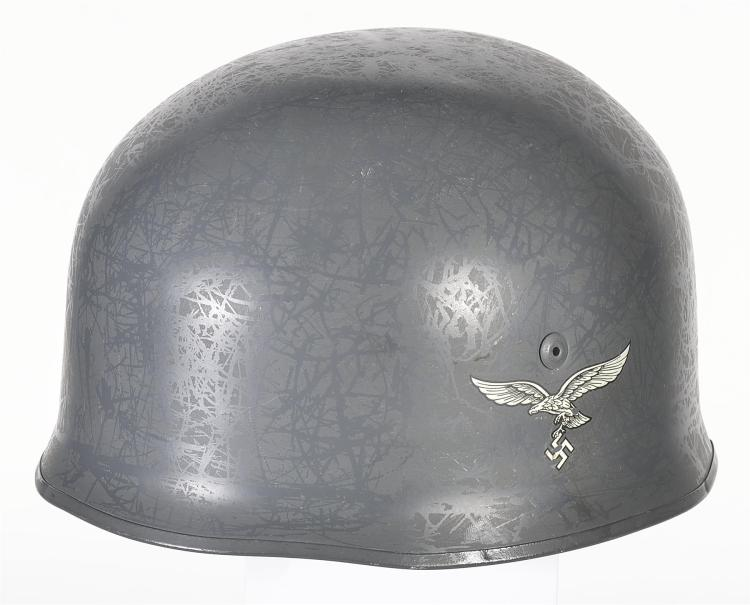German Style Military Helmet with Nazi Markings