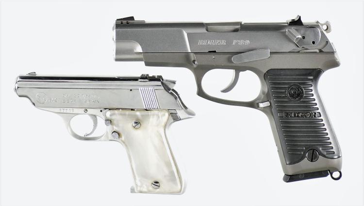 Two Semi-Automatic Pistols -A) Ruger Model P89 Pistol
