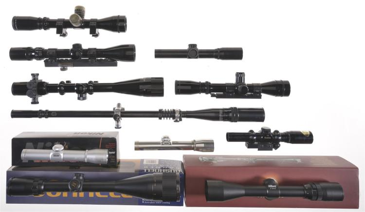 Eleven Various Scopes