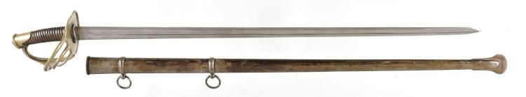 French Sword with Scabbard