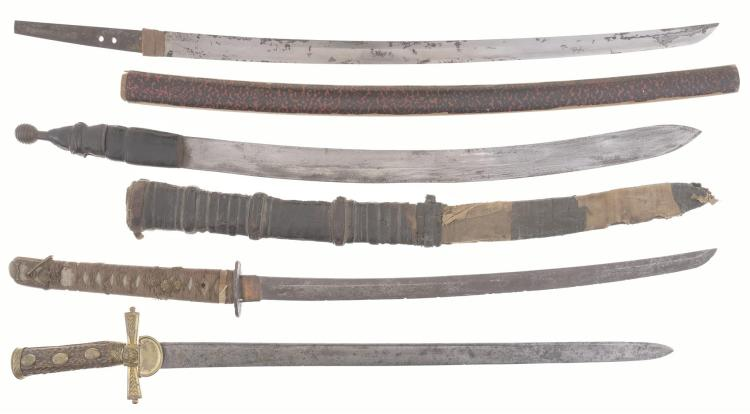 Group of Four Assorted Swords