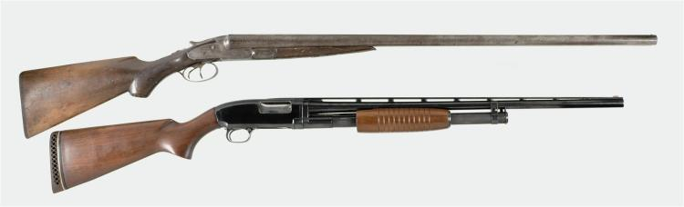 Two Shotguns -A) Lefever Arms H Grade Double Barrel Shotgun