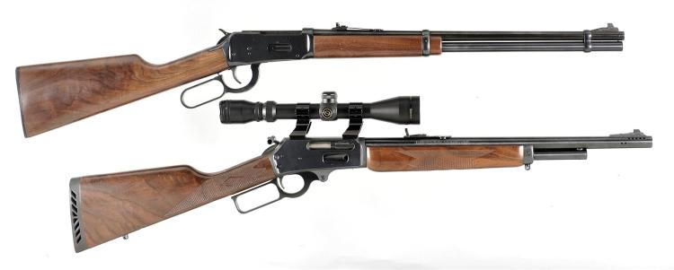 Two Lever Action Carbines -A) Winchester Model 94AE Carbine