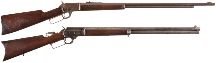 Two Marlin Sporting Lever Action Rifles -A) Marlin Model 97 Rifle