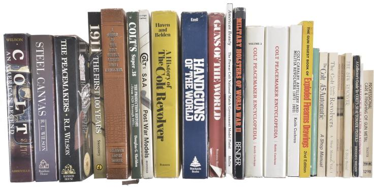 Twenty-Six Assorted Firearms Reference Books