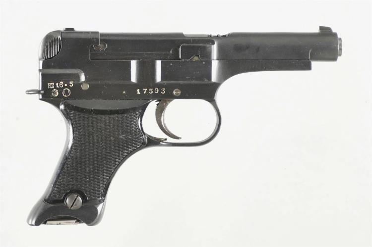 Japanese Type 94 Semi-Automatic Pistol with Holster