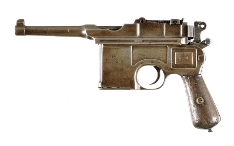 Mauser Broomhandle Semi-Automatic Pistol