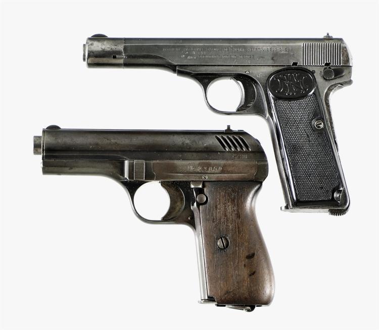 Two Semi-Automatic Pistols -A) Fabrique Nationale Model 1922 Pistol