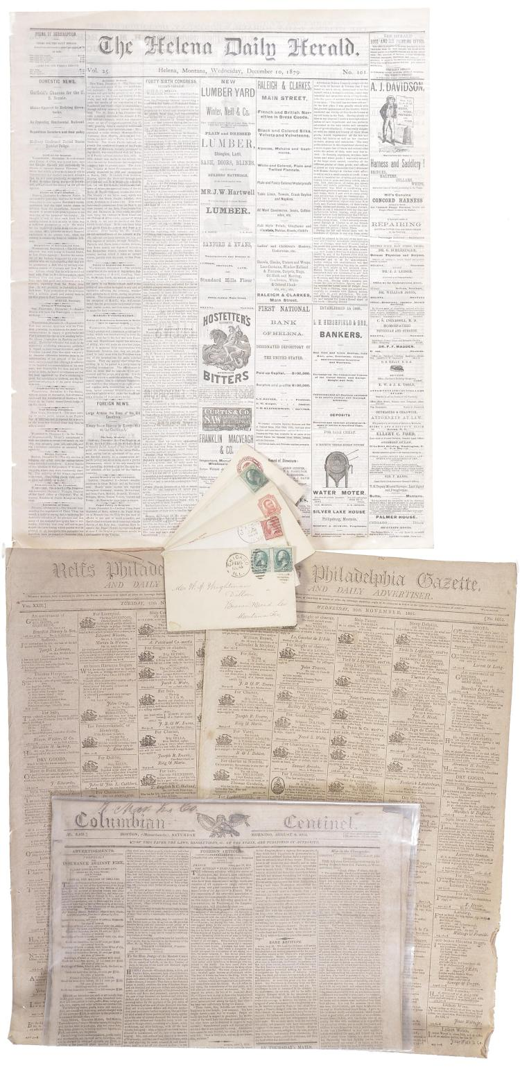 Group of Miscellaneous Newspapers