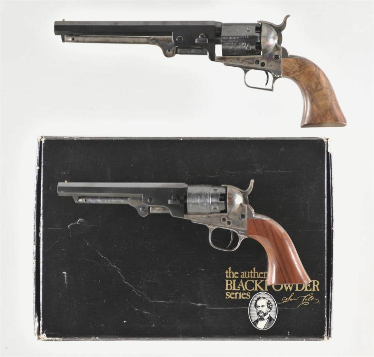 Two Colt Reproduction Percussion Revolvers -A) Colt 1851 Navy Revolver