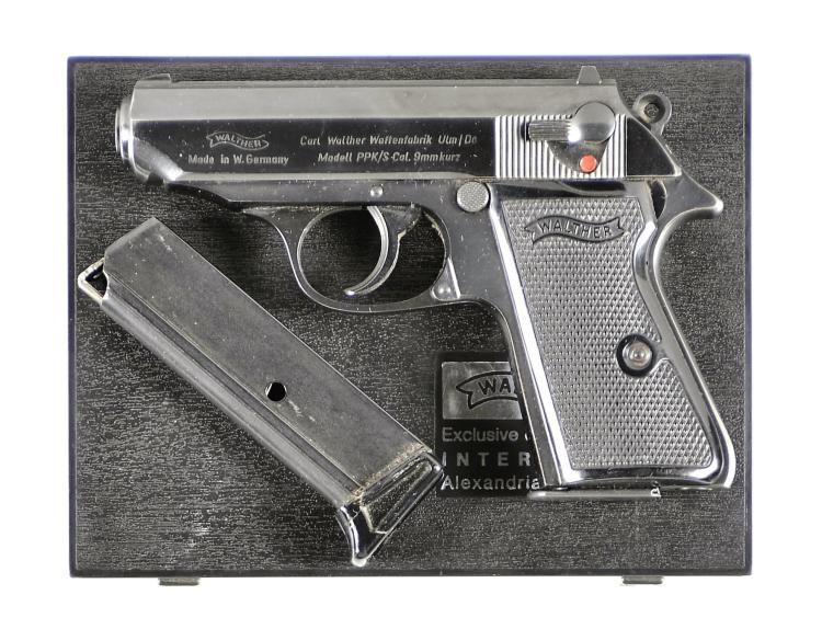 Walther Model PPK/S Semi-Automatic Pistol with Matching Case