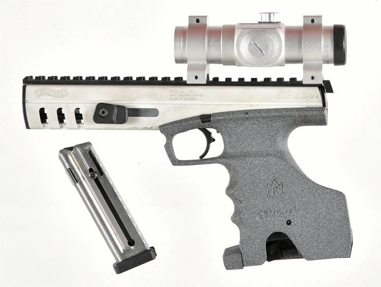 Walther Model SP22 M4 Pistol with Adco Red Dot Sight and Extra Magazine