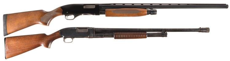 Two Winchester Sporting Slide Action Shotguns -A) Winchester Model 1300 Shotgun
