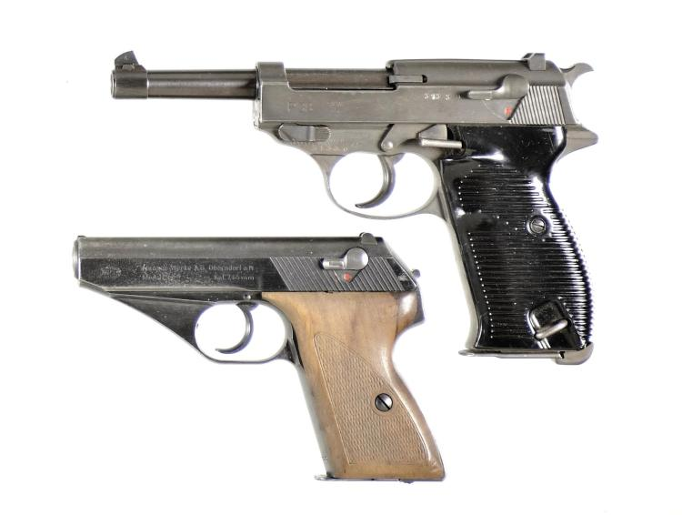 Two Mauser Semi-Automatic Pistols -A) Mauser Model P38 Pistol