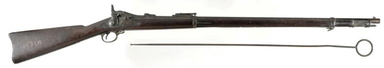 Springfield Model 1884 Trapdoor Rifle with Ramrod Bayonet and Cleaning Rod