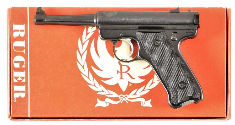 Ruger Standard Model Semi-Automatic Pistol with Box