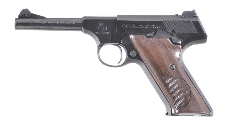 Colt Woodsman Semi-Automatic Pistol