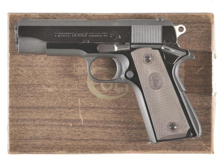 Colt Commander Semi-Automatic Pistol with Box