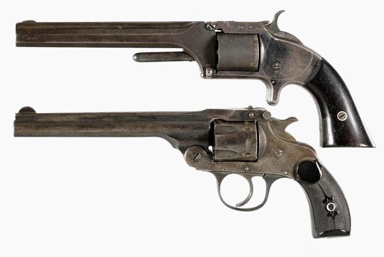 Two Antique Revolvers -A) Smith & Wesson Model 2 Army Revolver