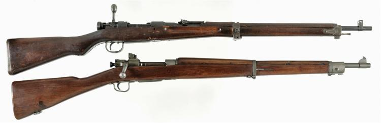 Two Bolt Action Rifles -A) Japanese Type 99 Rifle