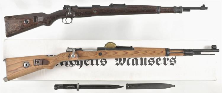 Two German Mauser Rifles -A) Mauser 98 Bolt Action Rifle