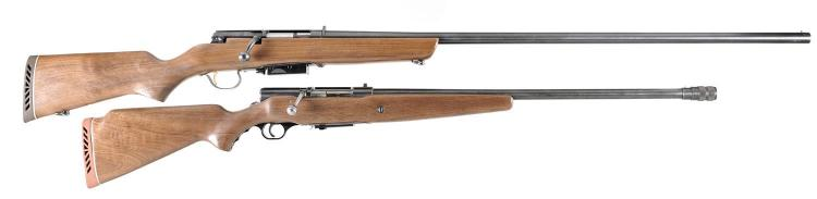 Two Bolt Action Shotguns -A) Marlin Model 55