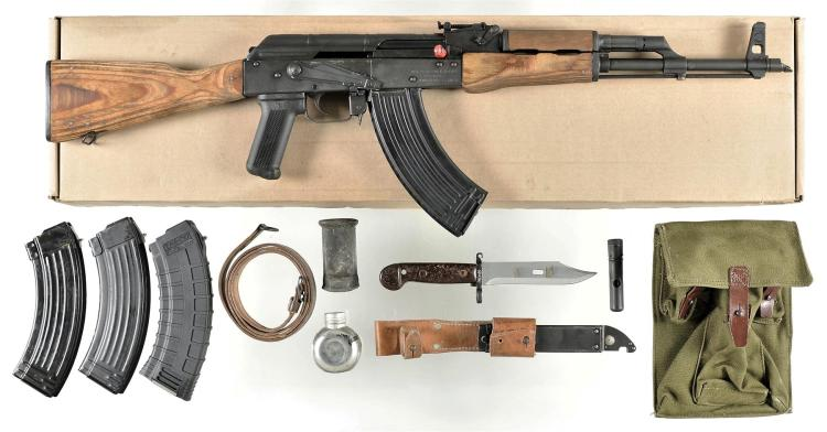 Romarm AK-47 Semi Automatic Rifle with Accessories