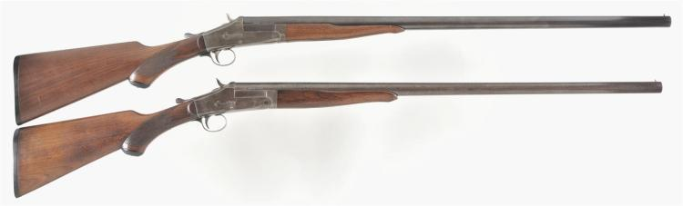 Two Single Shot Shotguns -A) Meriden Firearms Model AJ Aubrey Shotgun