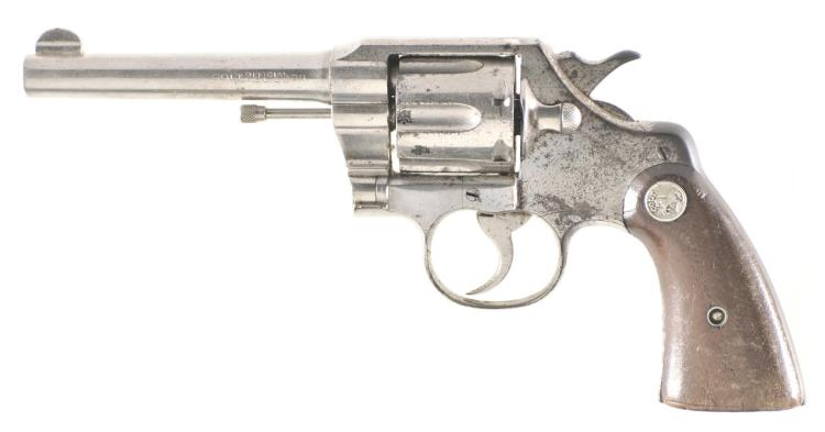 Colt Official Police Double Action Revolver