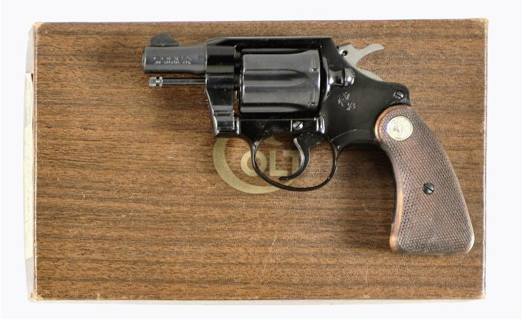 Colt Cobra Double Action Revolver with Box