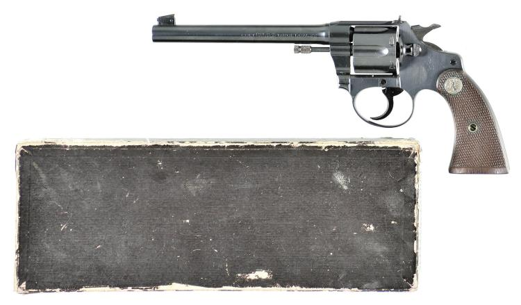 Colt Police Positive Target Double Action Revolver with Box