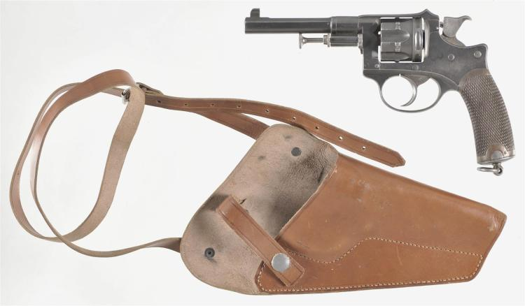 Unmarked Russian Style Double Action Revolver