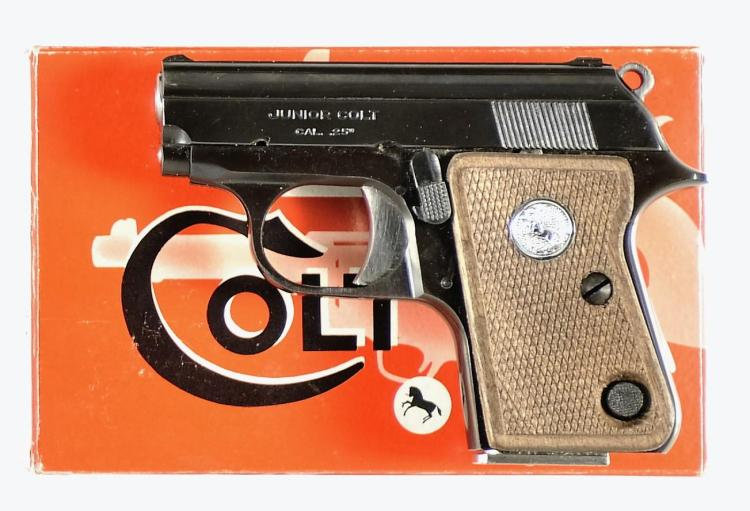 Spanish Colt Junior Semi-Automatic Pistol with Accessories