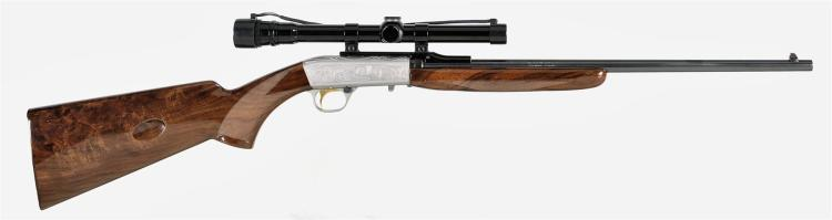 Browning 22 Caliber Grade II Semi-Automatic Rifle with Scope