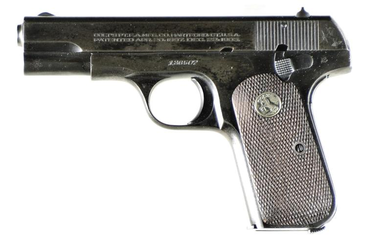 Colt Model 1908 Hammerless 380 Semi-Automatic Pistol